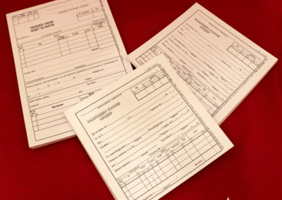 RKO-Dokument na ofsetova hartia